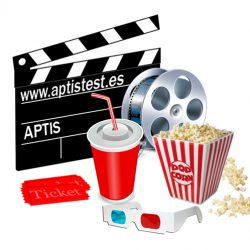 Vocabulario Aptis de cine en inglés (The Movies)