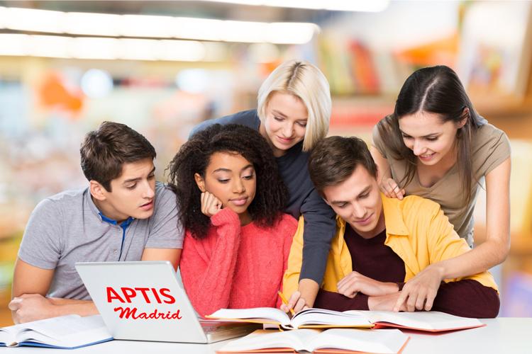 Cursos extensivos examen Aptis en Madrid